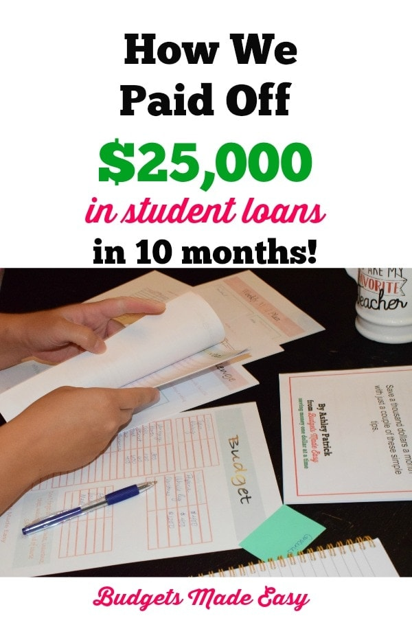how to pay off student loans in less than a year