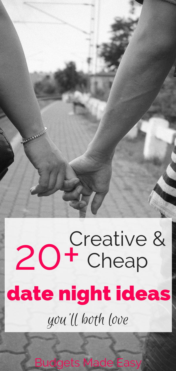 20+ creative and cheap date night ideas that you will both love. These ideas are perfect for married couples at home and on a budget. Send some quality time together being romantic and doing activities together. #datenight #couples #budget