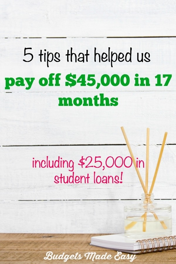 pay off debt fast, 5 tips to pay off debt quickly