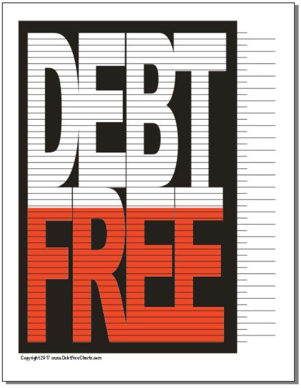 debt free chart