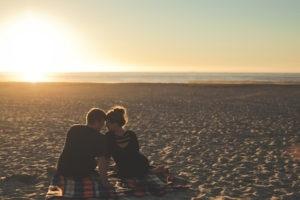 beach date night