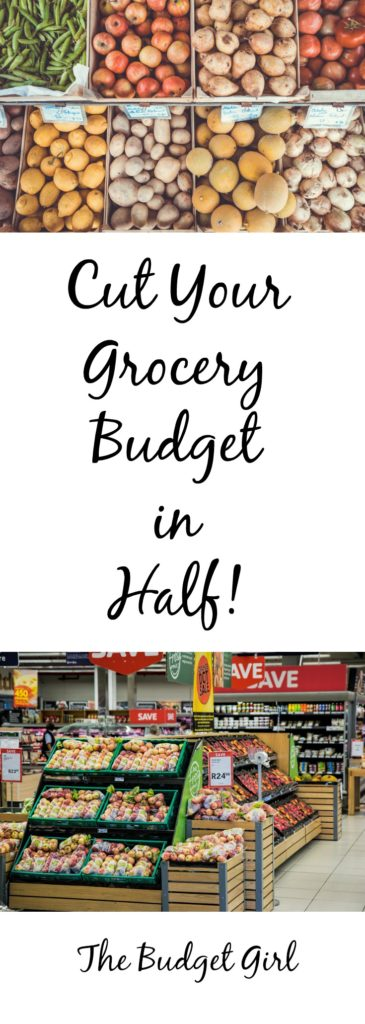 tips to save on groceries, cut grocery bill in half