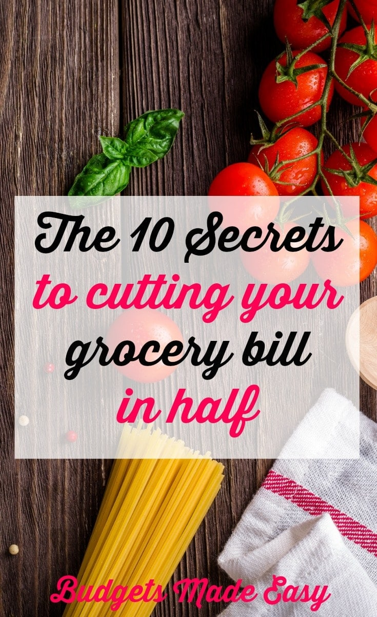 10 tips to cut your grocery budget in half. See how we saved $600 a month with these tips.