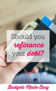Should I refinance your debt?