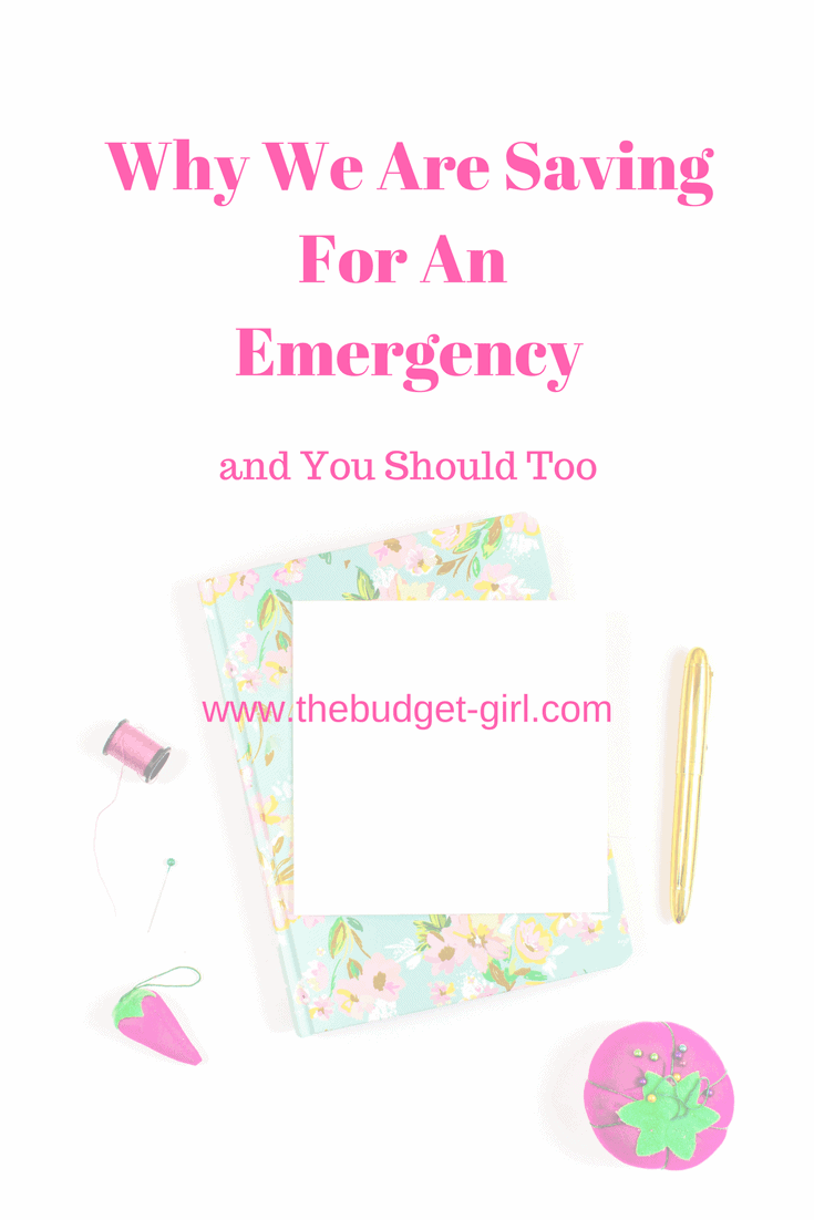 Why We Are Saving for an Emergency