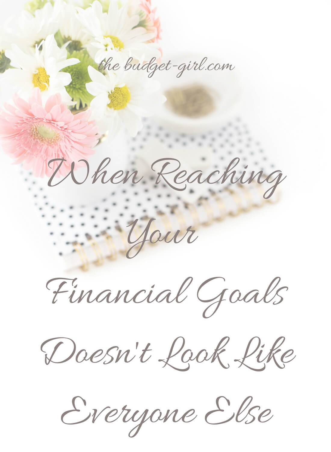 How We Are Reaching Our Financial Goals
