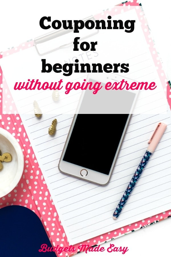 couponing for beginners, coupon tips for beginners without going extreme