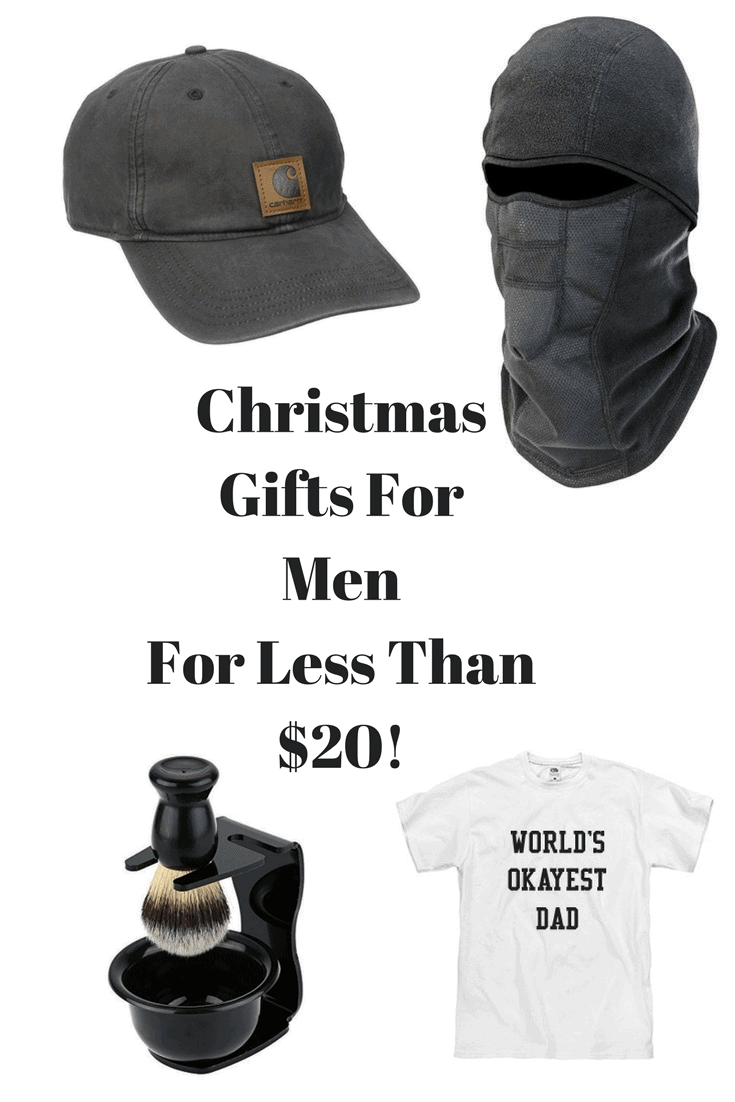 Let me know on Facebook what your budget is for Christmas this year! mens gift ideas  sc 1 st  Budgets Made Easy & Christmas Gifts For Men For Under $20 - Budgets Made Easy