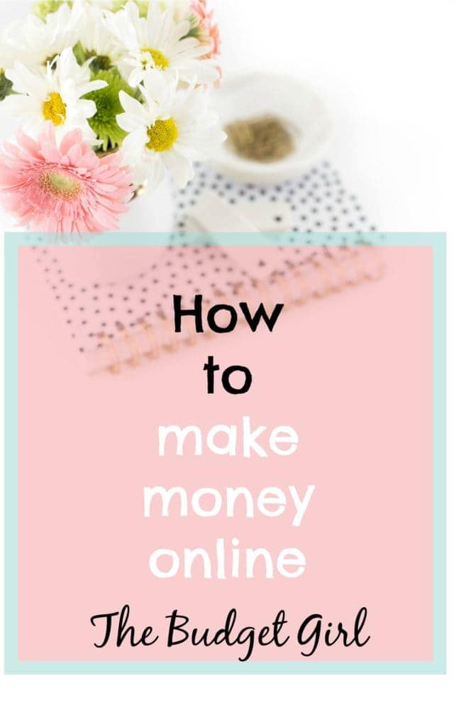 How to Make Money Online - Budgets Made Easy