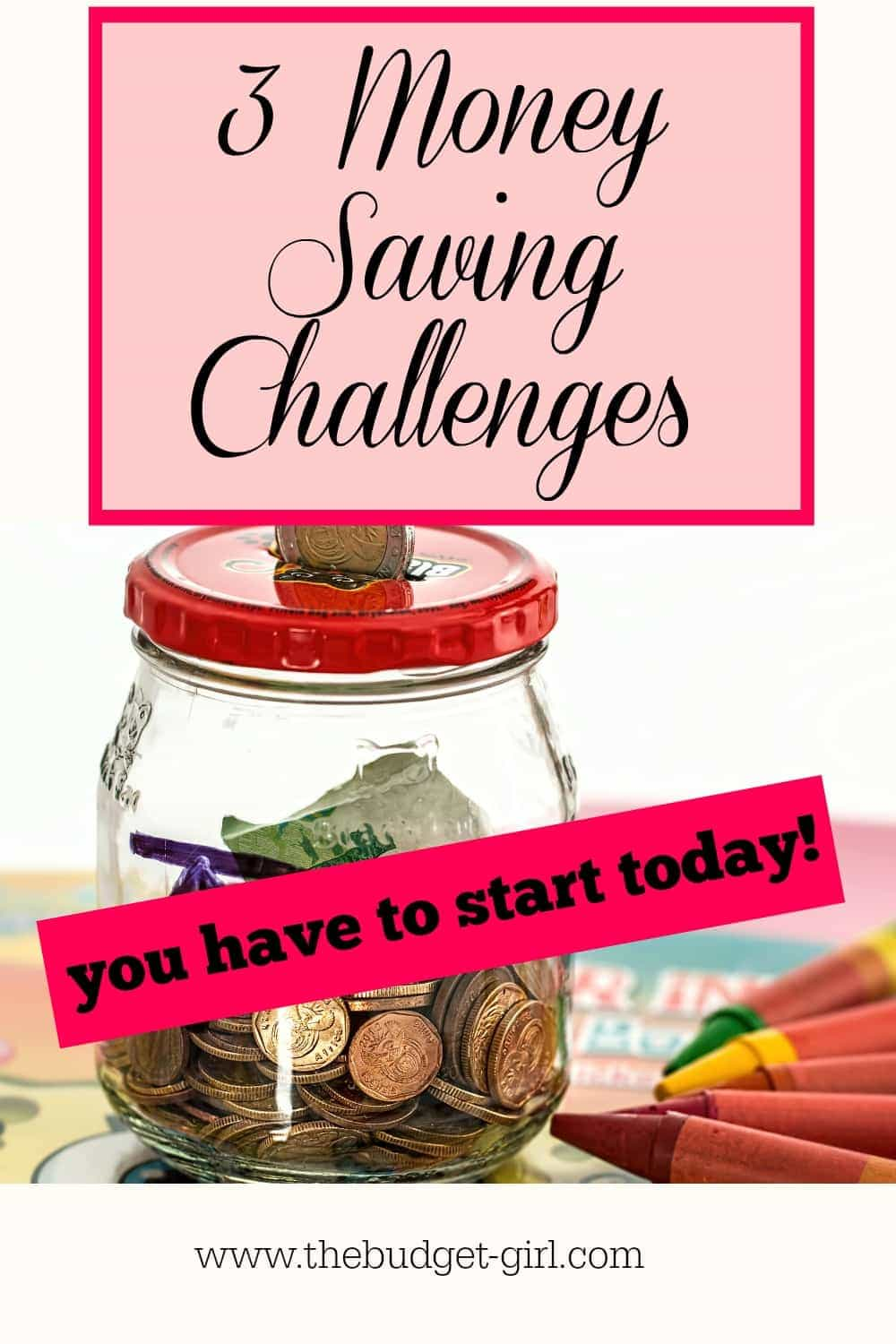 money saving challenges you have to start today