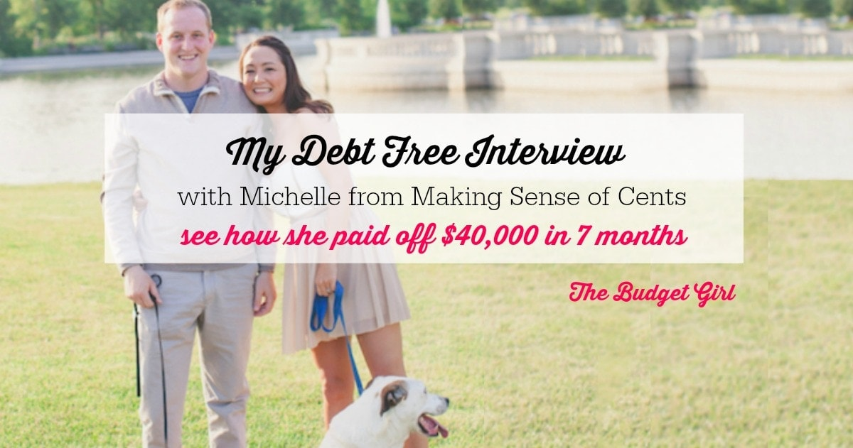 My Debt Free Interview With Michelle Schroeder-Gardner!
