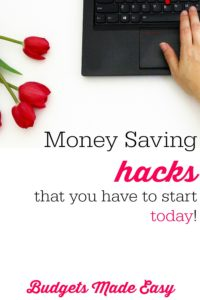 money saving hacks you have to start today