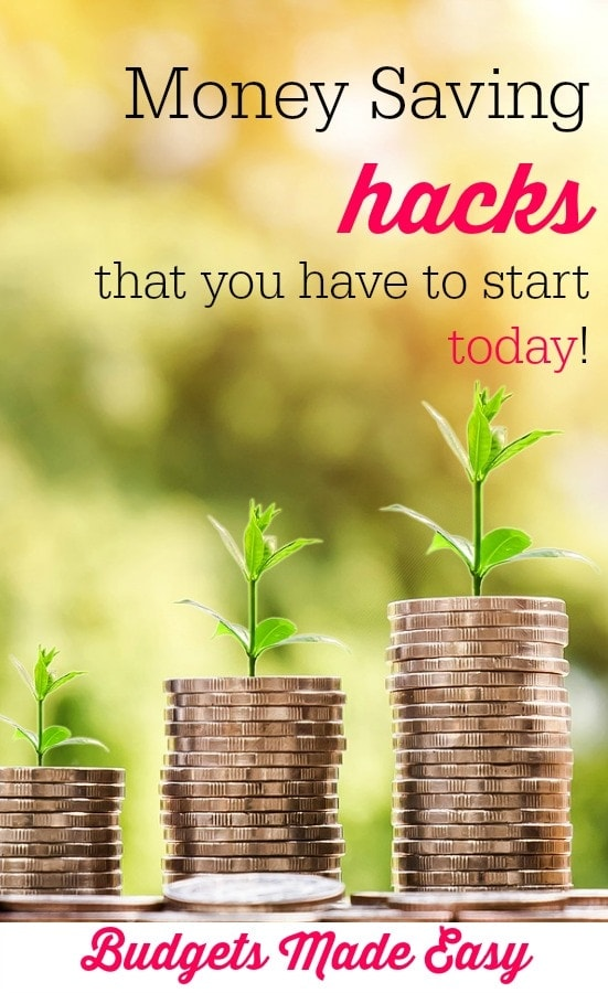 money saving hacks you have to try try today