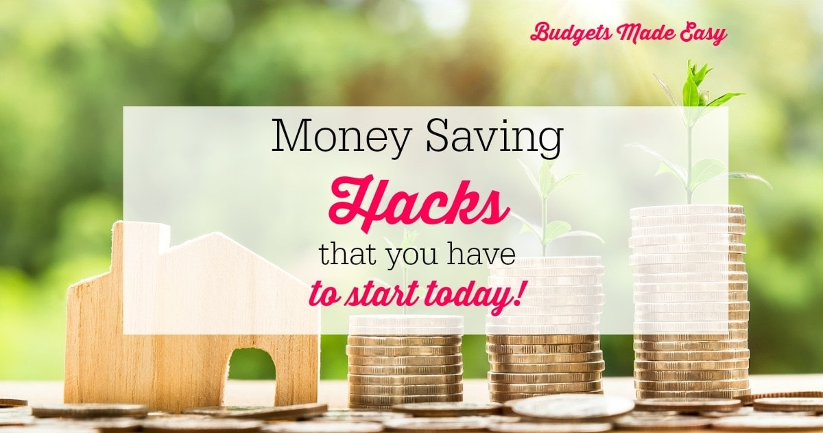 Money Saving Hacks You Have to Try Today