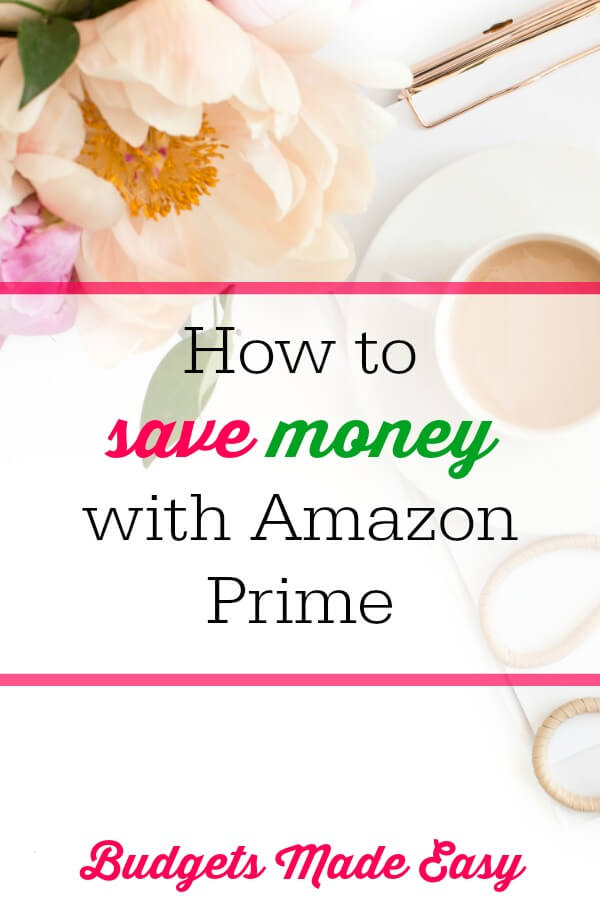 save money with prime membership