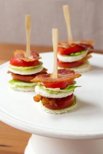 bacon lettuce tomato sandwich