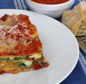 3 cheese butternut squash lasagna