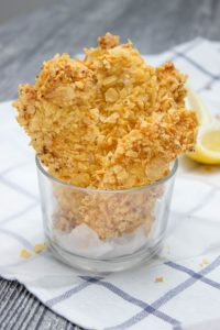 crispy baked cornflake chicken tenders