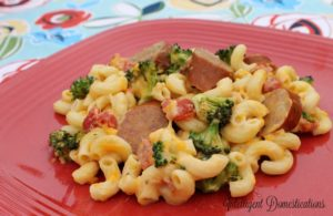 crockpot broccoli and sausage casserole