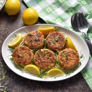 no mayo tuna patty