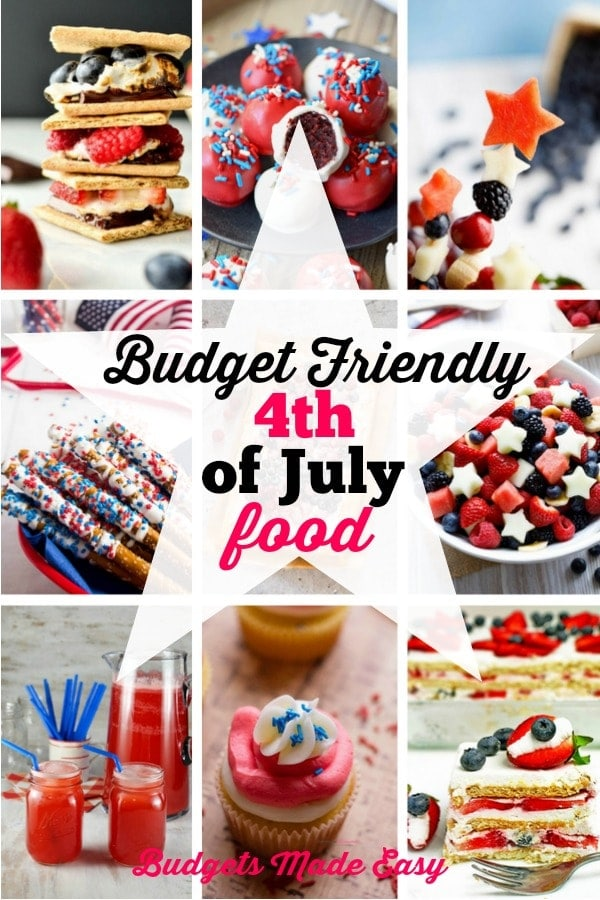 budget friendly 4th of July food