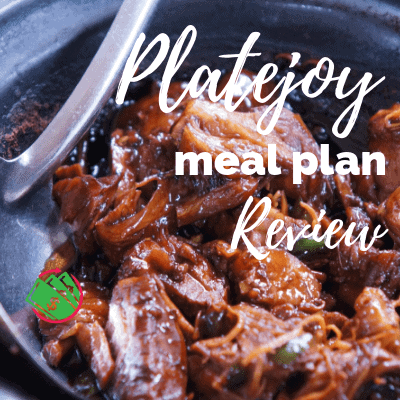 Platejoy Customized Meal Plan Review