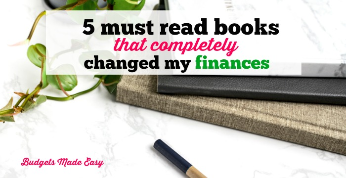 The must read books that completely changed my finances