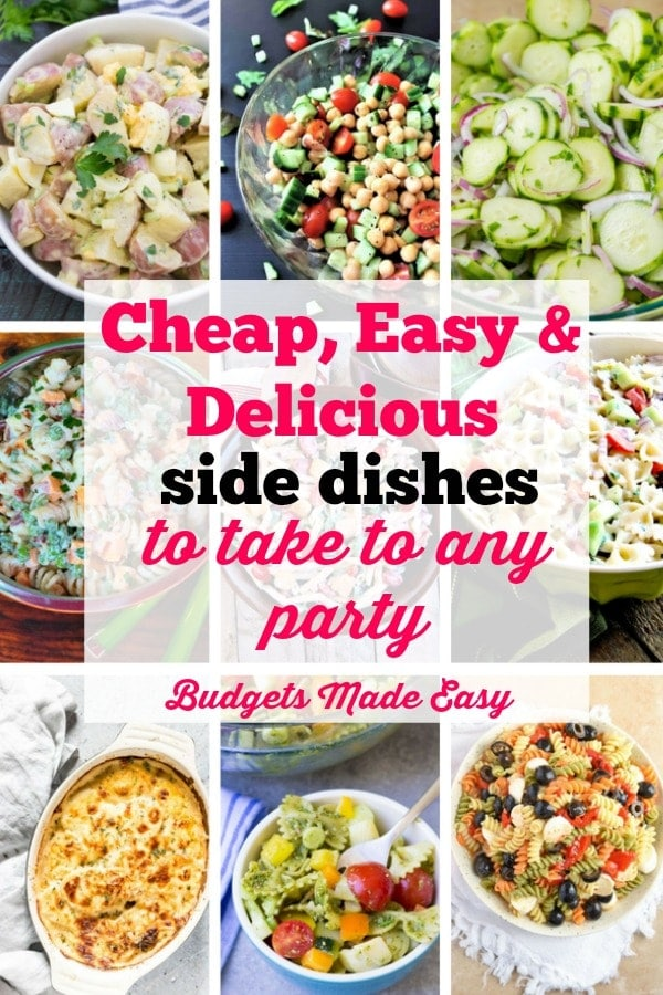 cheap easy and delicious side dishes