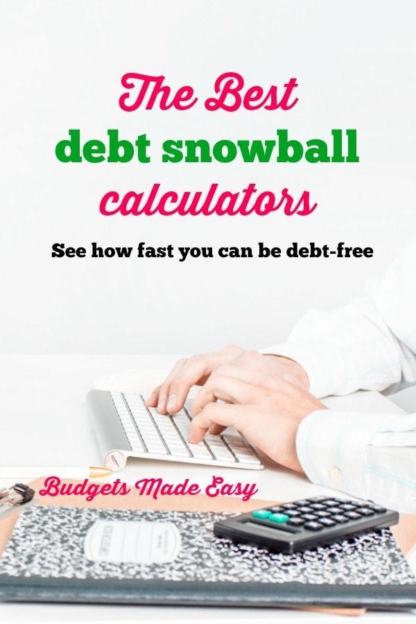 the best debt snowball calculators