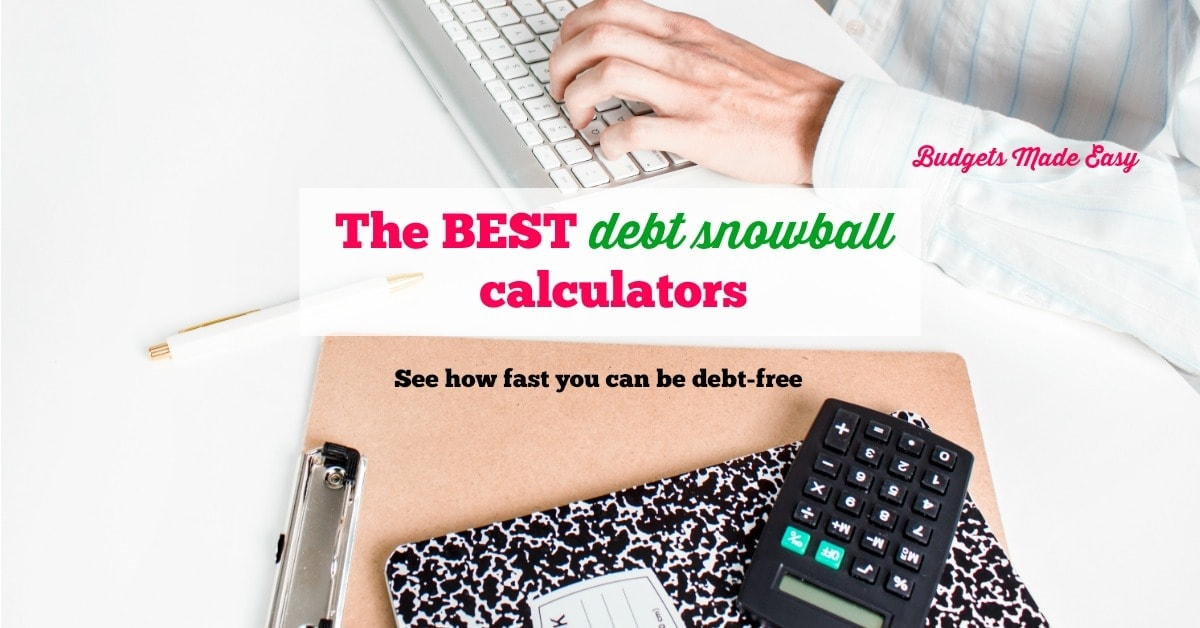 The Best Debt Snowball Calculators