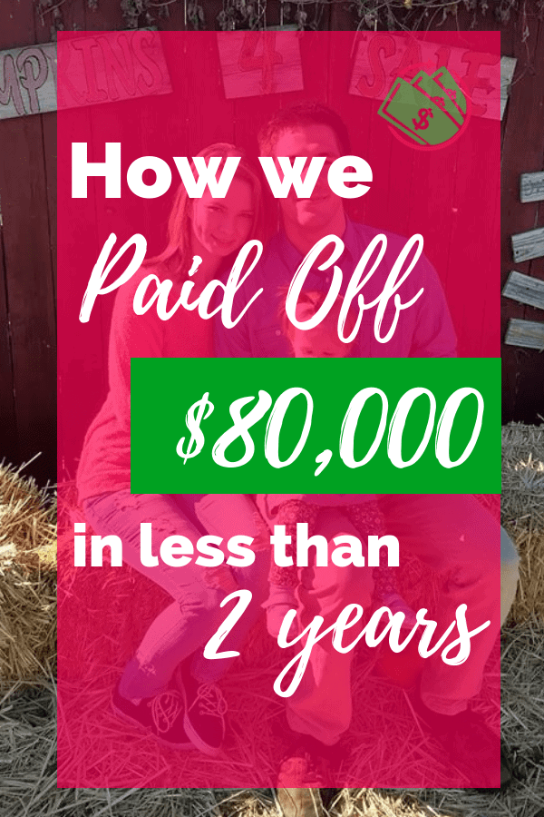 how we paid off 80,000 in debt fast