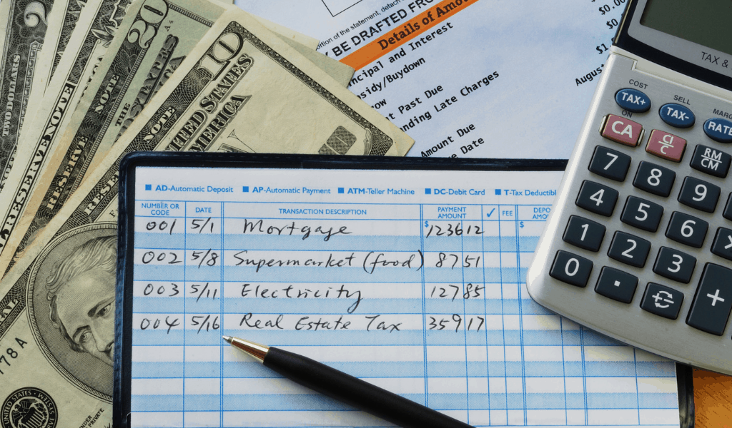 managing family finances checkbook and money