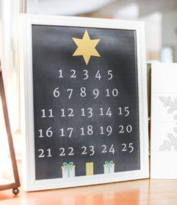 christmas countdown tree printable