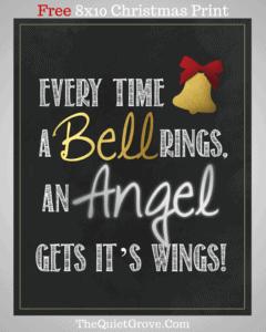 Free Christmas printable art