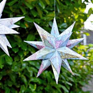 3D Christmas star