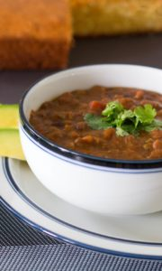 vegan chili instant pot