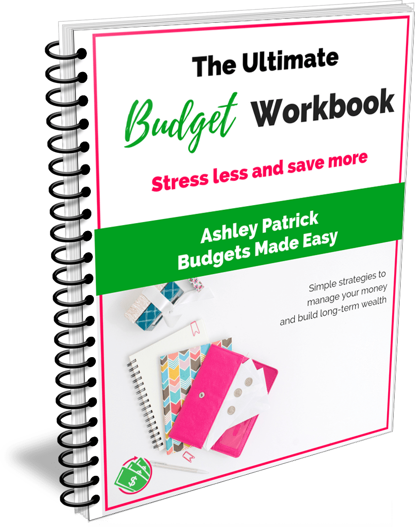 printable budget workbook