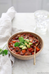 vegetarian chili instant pot
