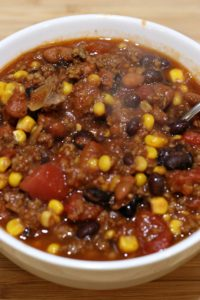 beef chili instant pot