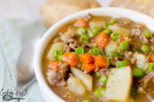 ground beef stew instant pot
