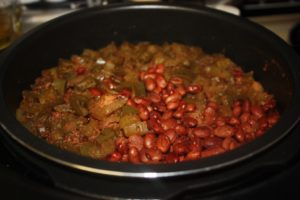 red beans and sausage instant pot