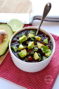 black bean soup instant pot