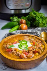taco soup instant pot