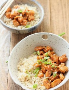 healthy orange chicken instant pot