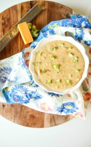 broccoli cheddar soup instant pot
