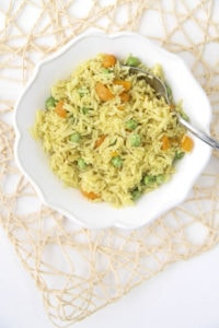 indian vegetable rice instant pot