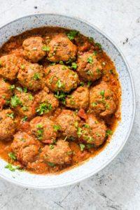 instant pot keto meatballs