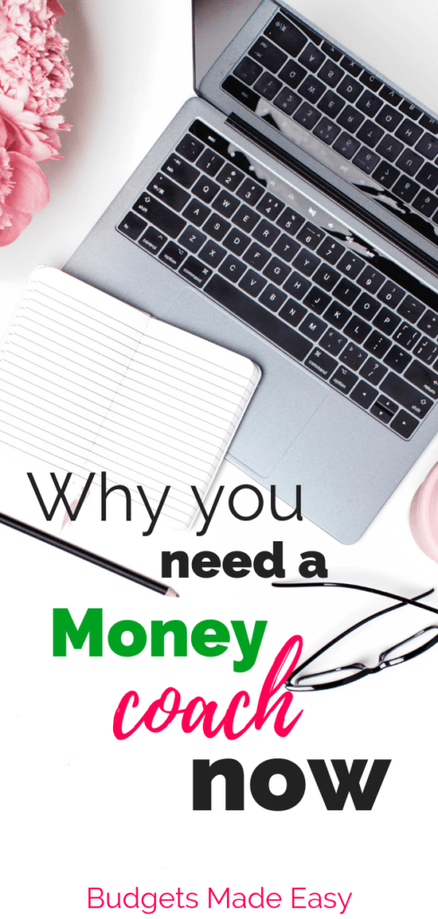 How a money coach can help you make a budget, save money fast and pay off debt quickly. #money #coach #debt