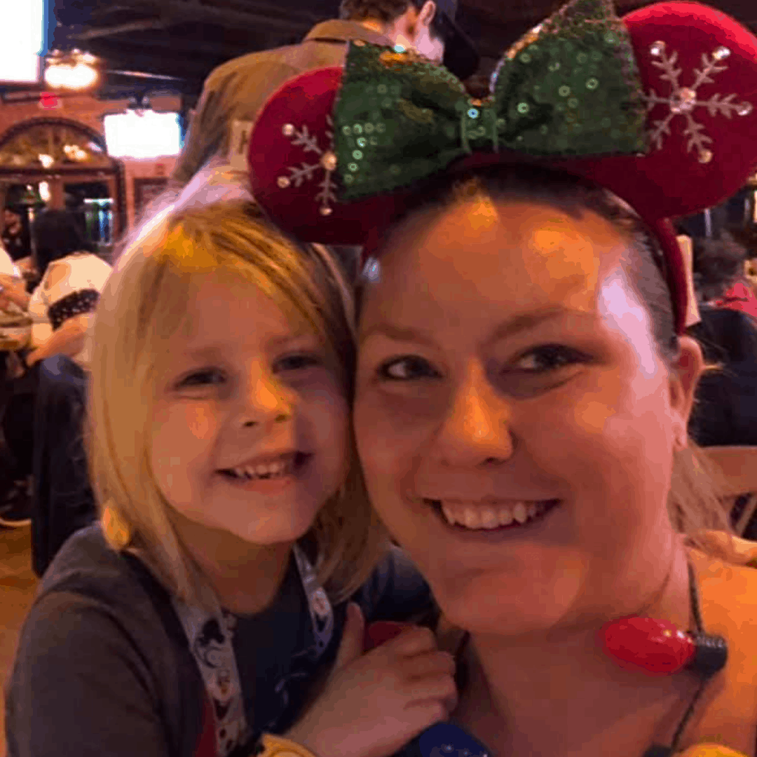Ashley Patrick at Disney