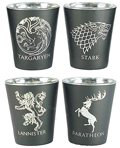 game of throne shot glasses